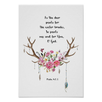 Psalm-42:1 Poster
