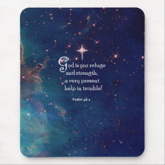 Psalm-46:1 Mousepad