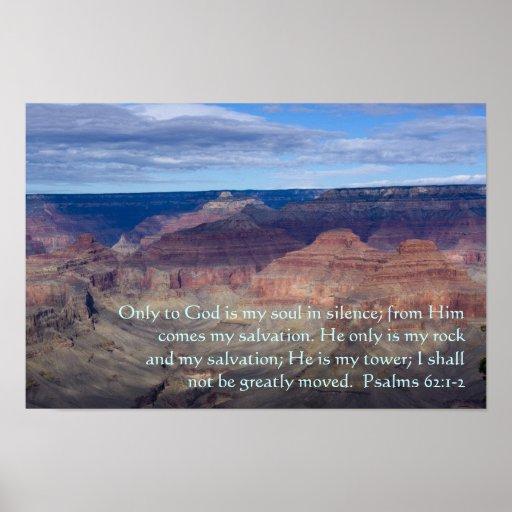 Psalm-62:1 - Plakat 2