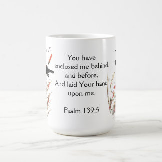 Psalm-65:5 Bibel-Schrift beantworten Sie Amsel Kaffeetasse