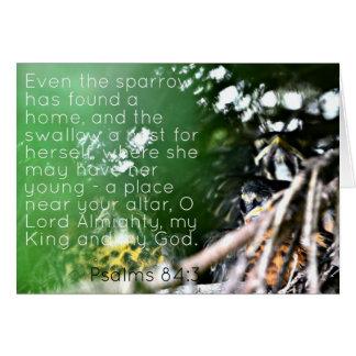 Psalm-84:3 Karte
