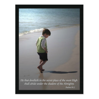 Psalm-91:1 Postkarte