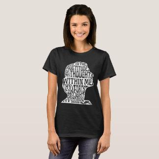 Psalm-94:19: Der Komfort-Weiß des Gottes auf T-Shirt