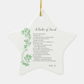 Psalm von David der Lord ist mein Keramik Ornament