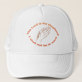 Psalme 23-1 (Hand) Orange Truckerkappe