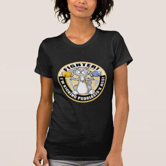 Psoriasis-Katzen-Kämpfer T-Shirt
