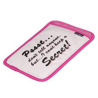 Pssst… kann ich ein GEHEIMES nicht behalten iPad Mini Sleeve