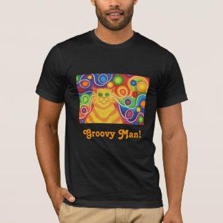 "'Psy-Katze-delic ""starker Mann!"" T - Shirt"