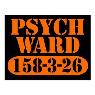 Psych Bezirk Postkarte
