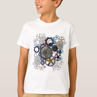 Psychadelic steampunk Gänge, Zähne, T-Shirt