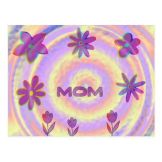 Psyched heraus Mamma Postkarte
