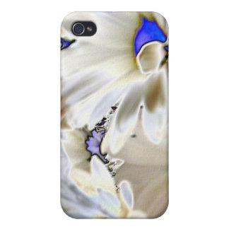 Psychedaisia/Sechzigerjahre mit Blumen Hülle Fürs iPhone 4