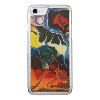 Psychedelica # 1 carved iPhone 8/7 hülle