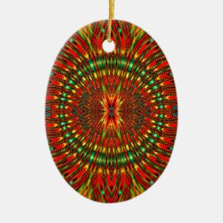 Psychedelisch Keramik Ornament