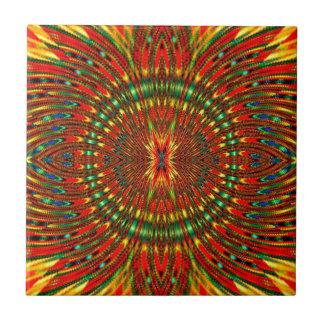 Psychedelisch Keramikfliese