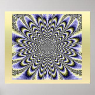 Psychedelisch Plakatdruck