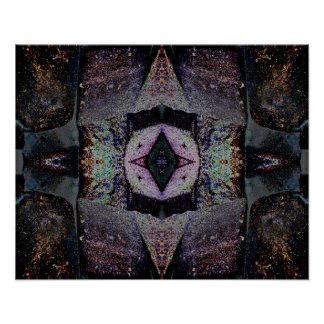 Psychedelische abstrakte Kunst der Poster