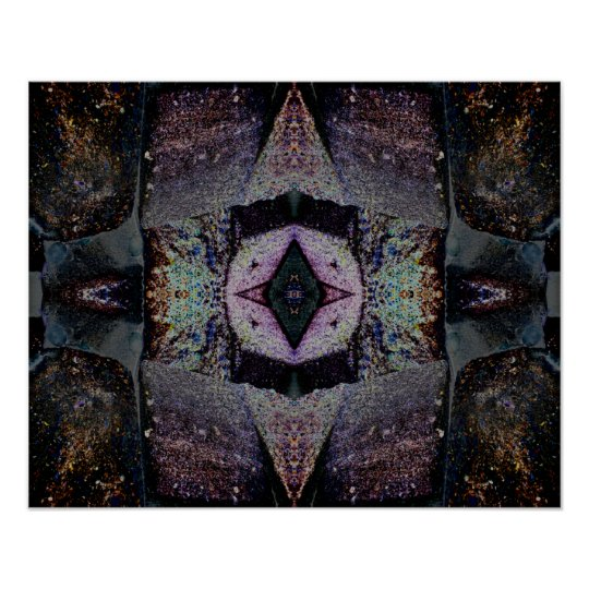 psychedelische abstrakte kunst der poster zazzle. Black Bedroom Furniture Sets. Home Design Ideas