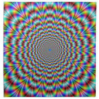 Psychedelische Augen-Bieger-Amerikaner MoJo Serviette
