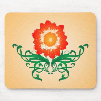 Psychedelische Blume: Vektorzeichnen: Mousepad