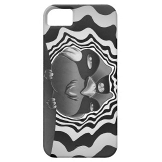 Psychedelische Eule iPhone 5 Schutzhülle