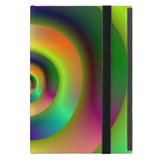 Psychedelische innere äußere Ringe iPad Mini Schutzhülle