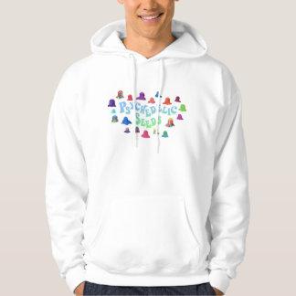 Psychedelische Kleckse durch Bex Ilsley Kapuzensweatshirts