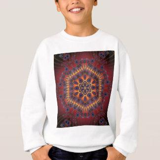 Psychedelische Krawatten-Grafik: Sweatshirt