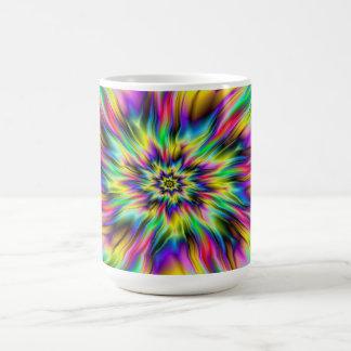 Psychedelische Supernova-Tasse Kaffeetasse