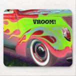 psychedelische Vintage Autonahaufnahme Mauspad