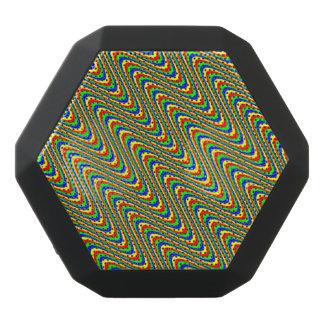 Psychedelische Wellen Schwarze Bluetooth Lautsprecher
