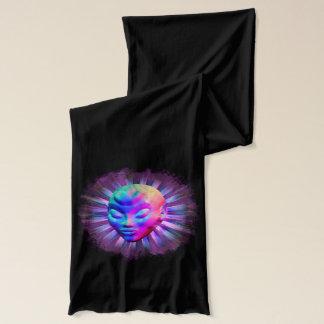 Psychedelischer alien-Meditations-Schal Schal