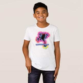 Psychedelischer Brandungs-Frosch-Bio T-Shirt