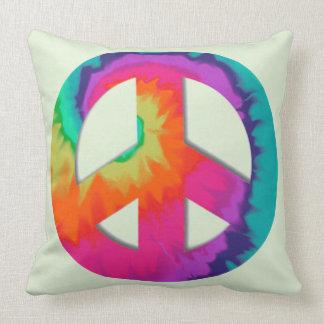 Psychedelischer Frieden Kissen