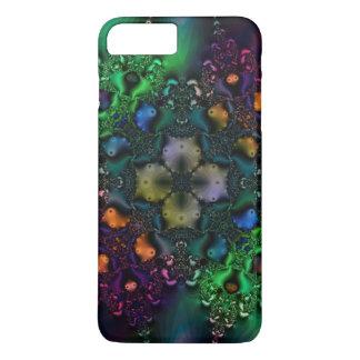 Psychedelischer Grunge-Fraktal-Muster iPhone 7 iPhone 8 Plus/7 Plus Hülle