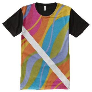 Psychedelischer Ludi Barrs ursprünglicher Entwurf T-Shirt Mit Bedruckbarer Vorderseite