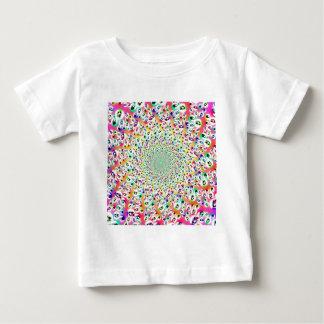 Psychedelischer Regenbogen mustert Mandala Babys Baby T-shirt