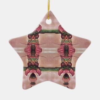 Psychedelischer Schutz Keramik Ornament
