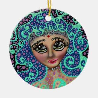 Psychedelischer Träumer Keramik Ornament