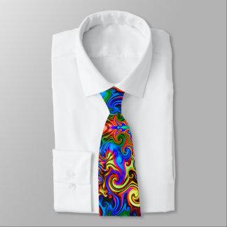 psychedelischer verbesserter Entwurf der Krawatte