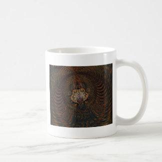 Psychedelisches Atom Kaffeetasse