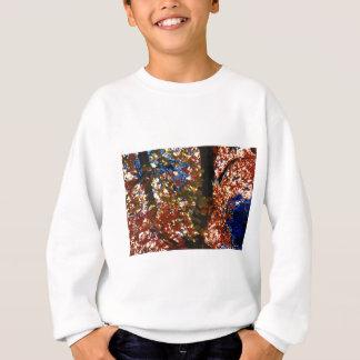 Psychedelisches Blätter Sweatshirt