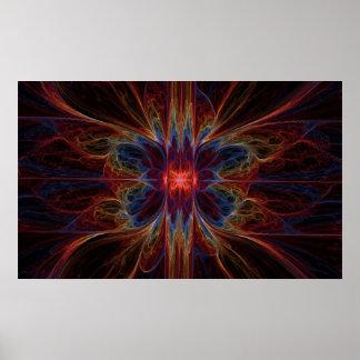 Psychedelisches Emination - Plakat