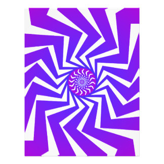 Psychedelisches gewundenes Muster: Vektorkunst: Custom Flyer