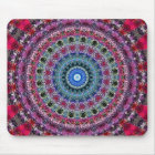 Psychedelisches Radialmuster: Mousepad