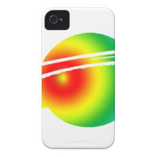 Psychedelisches Saturn iPhone 4 Hüllen