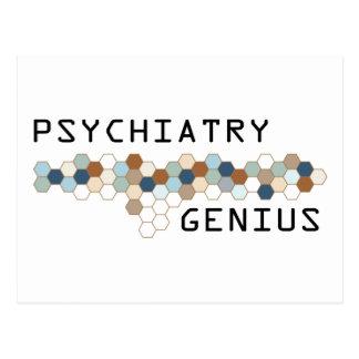 Psychiatrie-Genie Postkarte