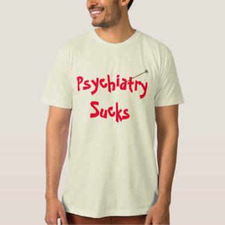 Psychiatrie-ist zum Kotzen Bio Shirt