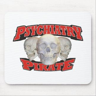 Psychiatrie-Pirat Mauspad