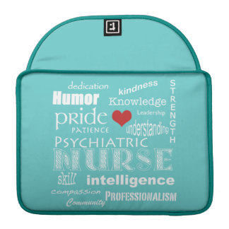 Psychiatrische Krankenschwester Sleeve Für MacBooks